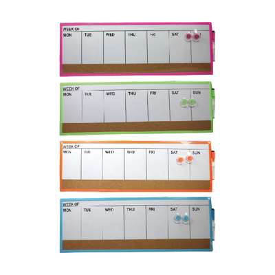 DRY ERASE BOARD AND CORK BOARD COMBO