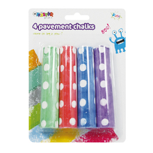 Pavement chalks 4 pack
