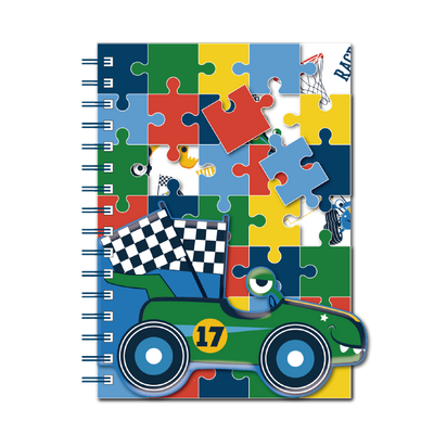 A5 Puzzle Notebook