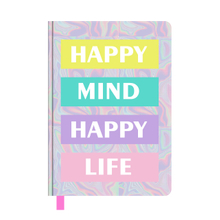 A5 Holographic PU Notebook